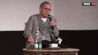 """Андрей Кончаловский представил в Риге свой знаменитый фильм """"Рай"""" и провел встречу со зрителями."""