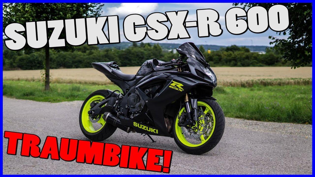 Suzuki Gsxr 600 >> HAMMER Maschine! | Suzuki GSXR 600 Probefahrt | Sluty ...
