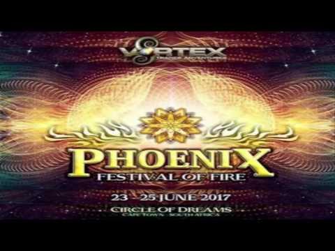 DjTuneRider - Dj Set@Vortex Pheonix Fire 2017 [Psychedelic Trance]