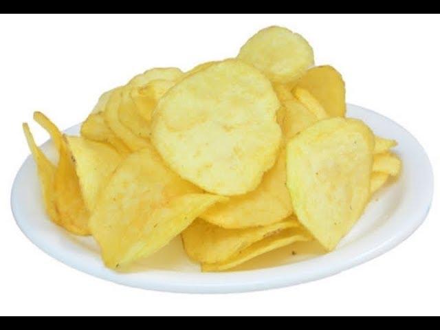 طريقة عمل الشيبس المقرمش في البيت في خمس دقائق و بدون قلي في الزيت Crispy Popato Chip Youtube