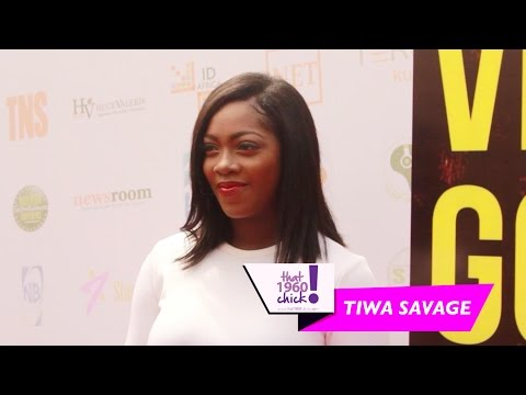 Video: Tiwa Savage Makes 1st Red Carpet Appearance Since Giving Birth