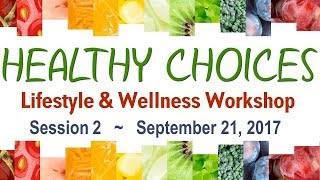 Wellness worshop - session 2 ...