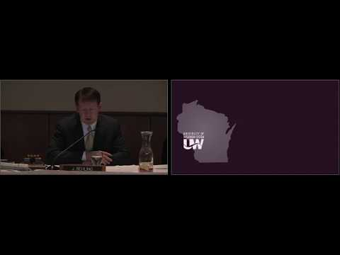 UW System Board of Regents Meeting February 8, 2018