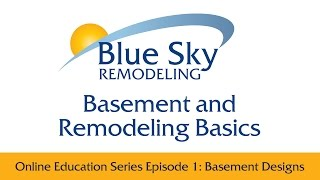 Designing Basements For Every Lifestyle - Basement And Remodeling Basics