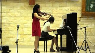 Phnom Penh Fantasy for violin and piano