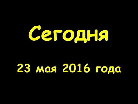 Какой сегодня праздник 23 мая 2016