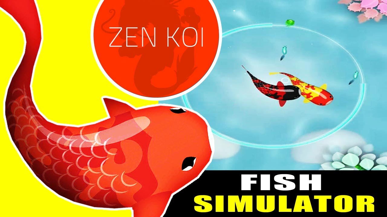 Zen koi a tranquil aquatic journey fish simulator and for Koi fish games