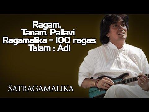 Ragam, Tanam, Pallavi / Ragamalika - 100 ragas Talam : Adi |U Shrinivas (Album: Satragamalika )