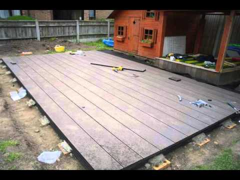 Composite decking prices northern ireland wood plastic for Non slip composite decking