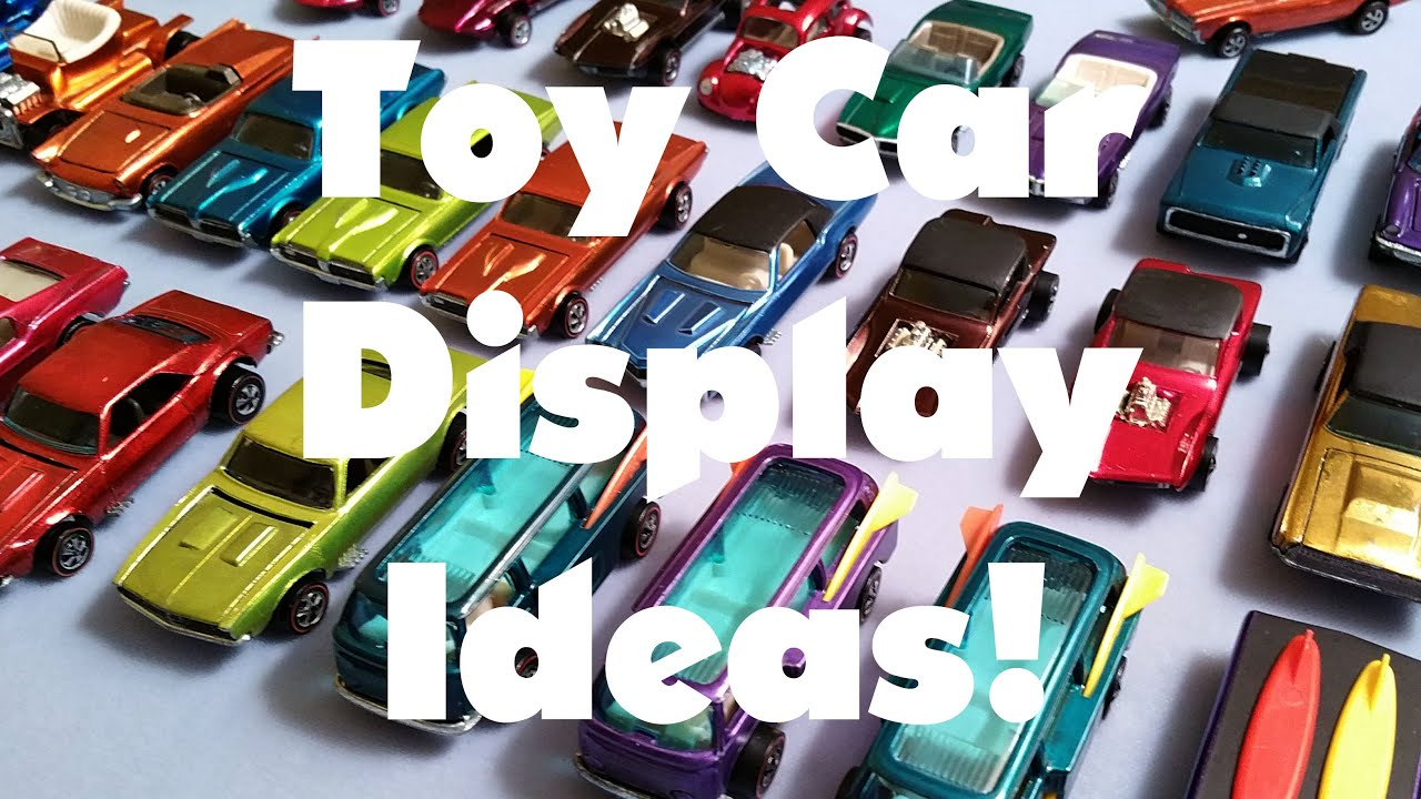 Toy Car Display Ideas