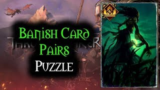 Banish Card Pairs Puzzle - Thronebreaker The Witcher Tales