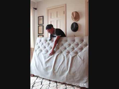 Декор изголовья кровати. Как сделать ковёр своими руками