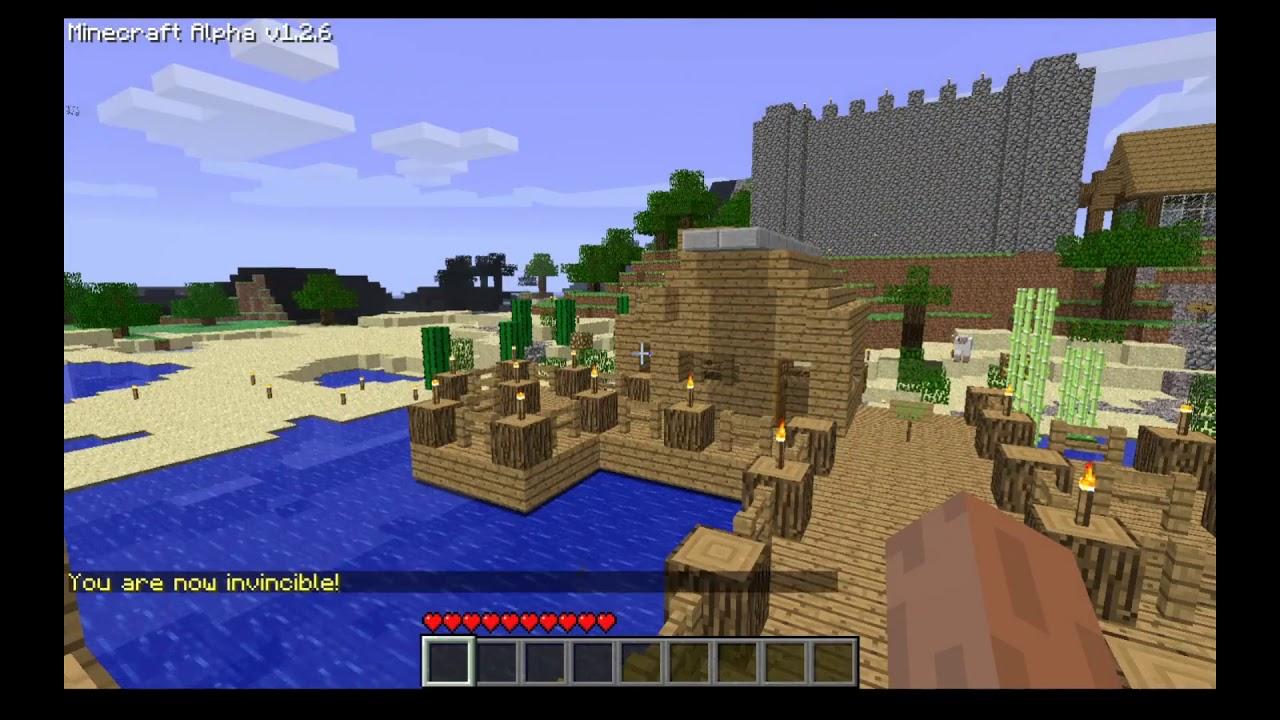 Minecraft Alpha 1 2 6 Server 2020 AlphaPlace YouTube