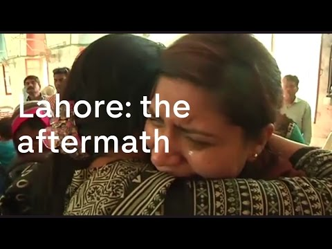 Lahore bombing: the aftermath