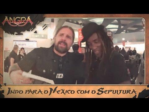 Indo para o México com o Sepultura / Going to Mexico with Sepultura