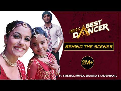 India's Best Dancer |  Swetha & Super Dancer Rupsa | Behind The Scenes - Nagada Sang| ft. S
