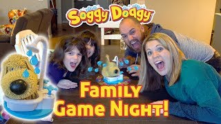 Twin Family Plays SOGGY DOGGY Game Challenge!! Fun GAME for KIDS!!!