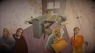 Animation 3 for theatrical play 'HOW MANY BUSHELS AM I WORTH ' by Bena Shklyanoy and Kevin Olson