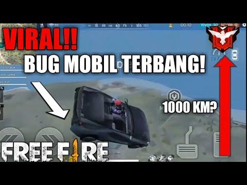 Viral!! Bug Mobil Terbang Free Fire