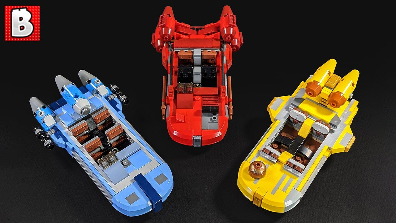 LEGO Mandalorian Landspeeder Custom Builds