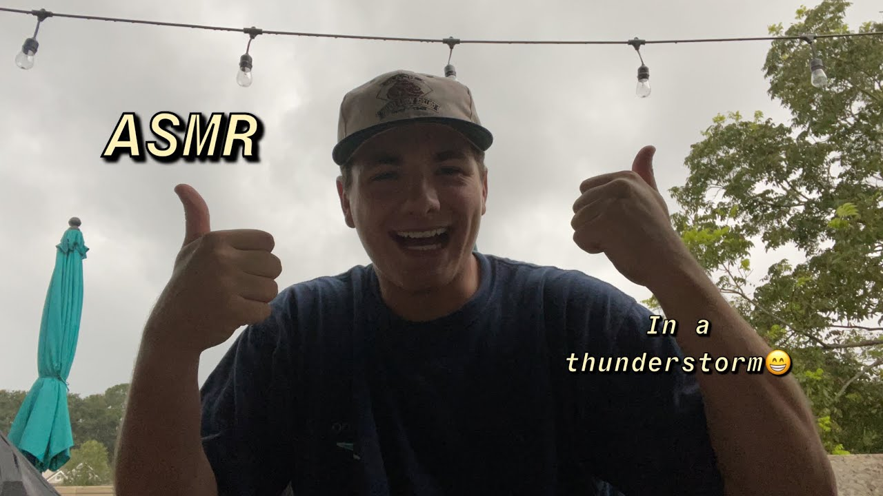 ASMR | In a thunderstorm