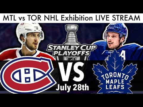 Canadiens Vs Maple Leafs Nhl Exhibition Game Live Stream 2020 Reaction Mtl Tor Streams Talk Youtube