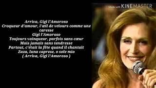 Dalida   Gigi L'amoroso   Lyrics