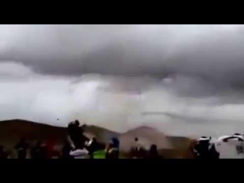 Dakar 2015 Stage 7 Campbell Huge Crash - stabilize test