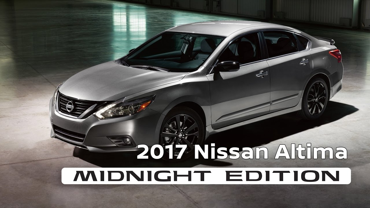 2017 altima sr midnight edition at central houston nissan youtube. Black Bedroom Furniture Sets. Home Design Ideas
