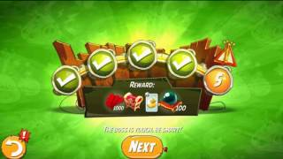 Beat The Daily Challenge King Pig Panic Completed in Angry Birds 2 Monday