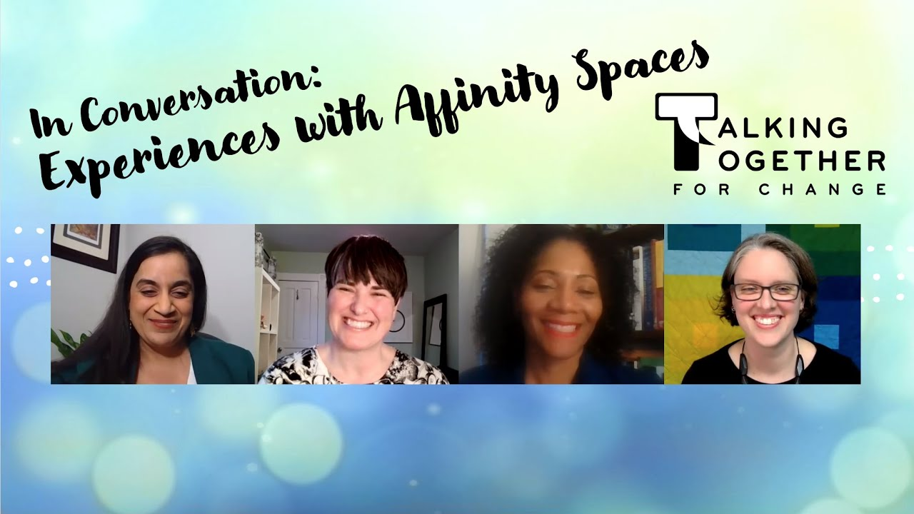 In Conversation: Experiences with Affinity Spaces