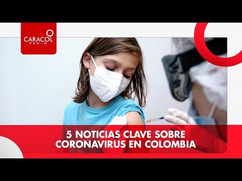 5 noticias clave sobre coronavirus en Colombia | Caracol Radio