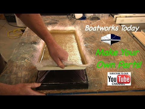 Making A New Fiberglass Hatch From A Mold