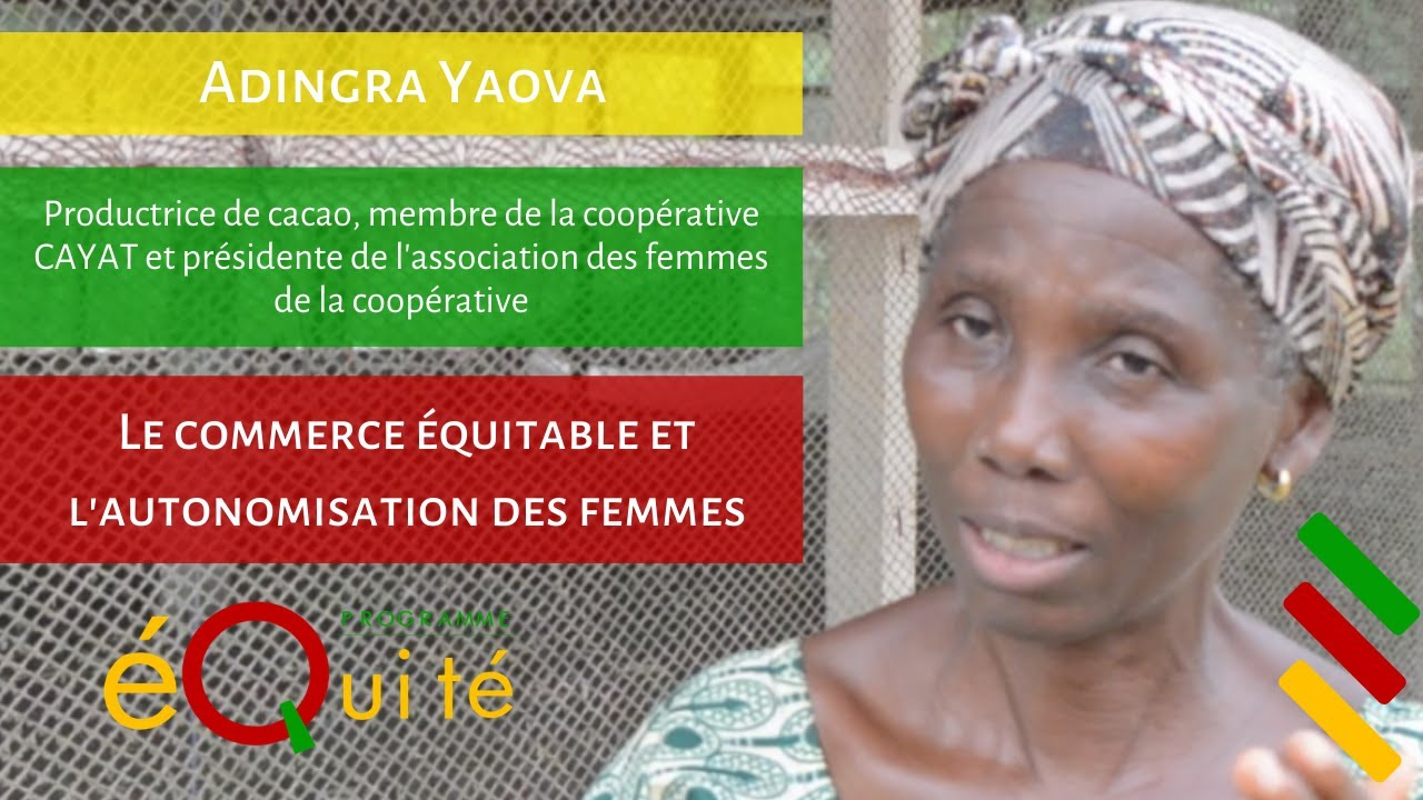 "Adingra Yaova (CAYAT) ""Le commerce équitable permet d'émanciper les femmes"""