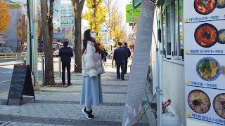 Walk from Singil stn. to Yeong…