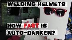 SPEED DOESN'T MATTER?! Auto-Darkening Welding Helmet
