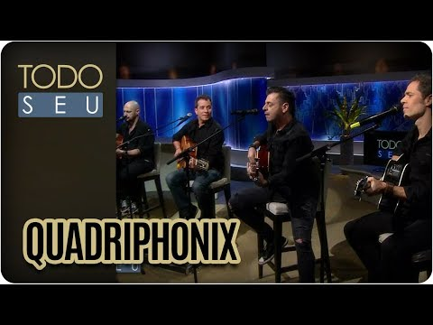 Banda Quadriphonix Canta Clássicos Do Pop Rock Internacional - Todo Seu (03/04/18)