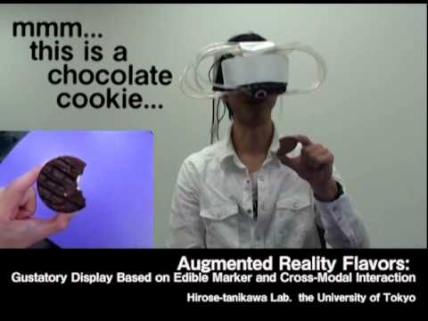 Augmented Reality Flavors: Gustatory Display Based on Edible Marker and Cross-Modal Interaction