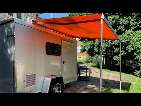 Carefree Of Colorado Freedom Roof Mount Awning Install And Review