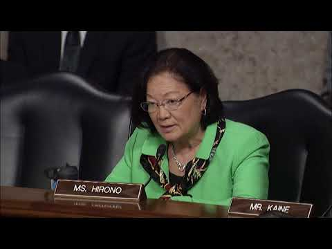 Senator Hirono Questions Department of Defense on Cybersecurity