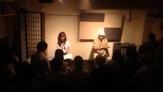 朗読劇 2014 6-19 舞台袖にて No2