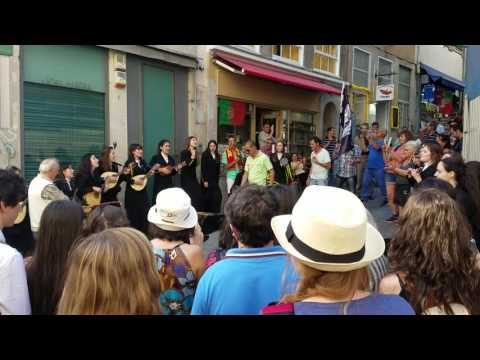 #ScienceTheEarth Music on the Streets of Porto