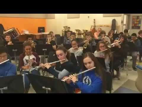 """#PhiladelphiaEagles Fight Song (aka """"#FlyEaglesFly""""): Strath Haven Middle School 8th Grade Band"""