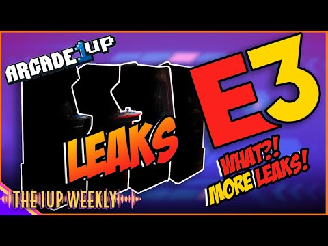 Arcade1up E3 Leaks from The1upWeekly