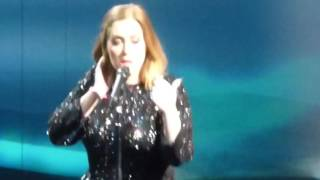 Adele - I Miss You - Live 2016 - Glasgow 25-03-2016