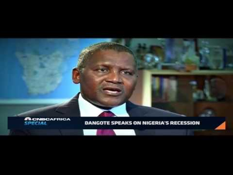 Dangote speaks on Nigeria's economic recession