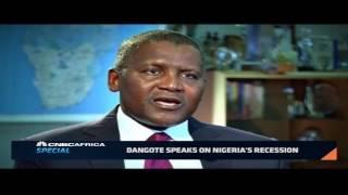 Dangote speaks on Nigeria's economic recession