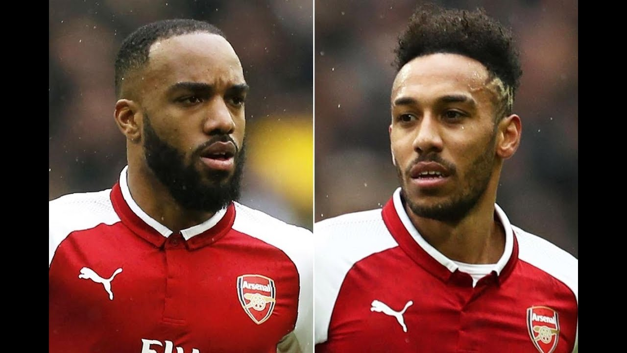 Download Aubameyang and lacazette Ready for new season {2018-2019} skills & Goals    Grateful