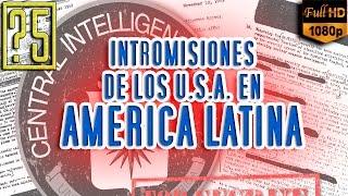 Las 5 Mayores Operaciones Clandestinas de los USA y la CIA en América Latina