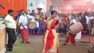 Dhunuchi Dance 2016 - Shreya Pal Choudhury
